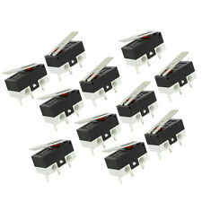 11 Pcs 1NO 1NC SPDT Momentary Long Hinge Lever Micro Switches AC 125V 1A CP new