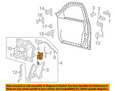 Lincoln FORD OEM 00-02 LS Front Door-Lock Latch Kit 2W4Z54203A29AB