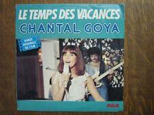 CHANTAL GOYA 45 TOURS FRANCE LE TEMPS DES VACANCES