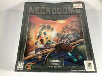 Necrodome by Mindscape - Vintage PC Game on CD-ROM -Rare New Sealed 1996 Big Box