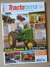 Tractorama n°54, John Deere A, usines McCormick, Allgaïer R22, LeO F bis, Michel