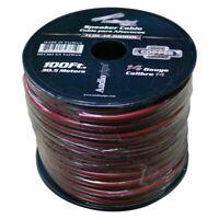 AUDIOPIPE TCBL-14-100RBC Audiopipe 14 Gauge 100% Copper Series Speaker Wire -...