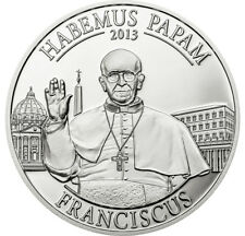 Cook Islands. $5 2013. Pope Francis I. Silver Proof