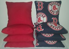 SET OF 8 BOSTON RED SOX CORNHOLE BEAN BAGS ***FREE SHIPPING!!!!***