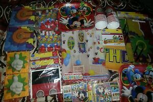 Mickey Mouse PARTY Supplies Set MICKEY MOUSE Clubhouse PArTy  XLarge Birthday