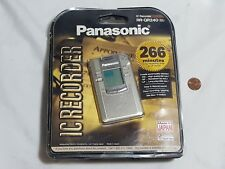 Panasonic IC Recorder RR-QR240 Voice Recorder - VERY NICE LK NW w/ Instructions