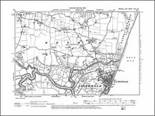 Southwold, Reydon, old map Suffolk 1905: 29SW repro