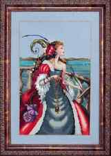 Mirabilia Cross Stitch Chart.MD113 The Red Lady Pirate  Cheap Shipping.