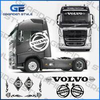 1 Set ( 7 Stück ) VOLVO - LKW Fahrerhaus Aufkleber - Sticker - Decal !