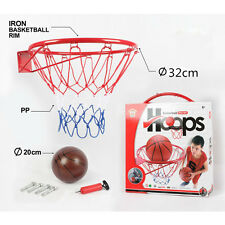 Kids Mini Basketball Hoop Rim Net Set Shooting Practice Training Rebounder