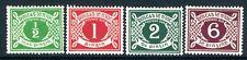 IRELAND-1925 Postage Dues Set Sg D1-D4 LIGHTLY MOUNTED MINT V15279