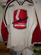 2005-06 OHL NHL AHL KHL WINDSOR SPITFIRES PATRICK DAVIS GAME WORN HOCKEY JERSEY
