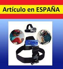 Soporte CABEZA Camara accesorios para GOPRO HERO 1 2 3 3+ casco bici ajustable