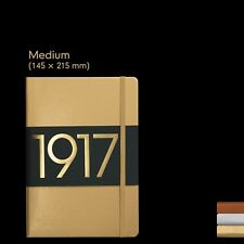 Leuchtturm917 A5 Notebook Lined Limited Edition - Gold
