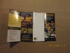 WPS FC Gold Pride Vintage Circa 2009 Womens Soccer Season Ticket Brochure