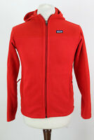 PATAGONIA Synchilla Red Zip Up Jumper size XL (14) Boys