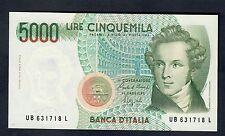 5000 LIRE bellini serie B 1988 q.fds LOTTO 253