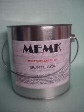 (9,99€/L.) Kunstharzlack  Lack  Matt  RAL 7001 Silbergrau 2,5 Liter