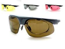Deportes gafas de sol con su receta Lentes Intercambiables Gafas Tintes