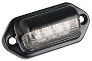 LED NUMBER PLATE LIGHT TRUCK TRAILER  MULTIVOLT 6434B