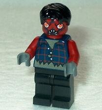 HALLOWEEN #10 Lego Evil Demonic Zombie NEW Bloodshot Eyes & White Fang CLOSE OUT