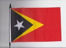Timor-Leste (East Timor) Medium Hand Waving Flag