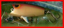 Vintage 1987(Turlock) POE'S Gold/Orange Blurpee Surface Popper Fishing Lure #552