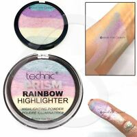 Technic Prism Unicorn Rainbow Highlighter Shimmer Baked Illuminating Powder