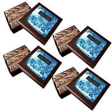 Momotombo-4 Boîtes de Chocolats Noire-Chia,Lin,Sésame et Noix de Coco-4x90gr