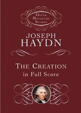 Dover Miniature Music Scores: The Creation in Full Score by Joseph Haydn (2001,