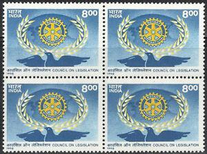 Rotary International Council on Legislation 1998 India Blk Clubs International