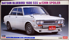 1970 Nissan / Datsun Bluebird 1600 SSS mit Spoiler 1:24 Hasegawa 20468