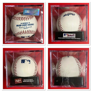 Rawlings Major League Baseball New With UV Protected Cube Official Game Ball