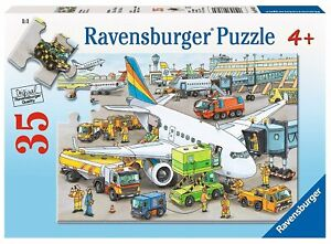 Ravensburger Jigsaw Puzzle 35pc - Busy Airport - 08603-0 Authentic New