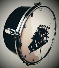 Madness - one step beyond - upcycled Drum Clock