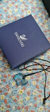 More details for swarovski elephant charm necklace genuine great condition