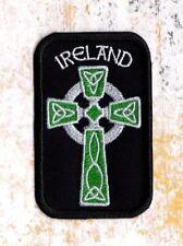 Celtic Cross Ireland Celtic Cross Patch Iron on to Sew on