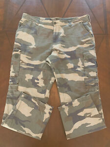 Men's The Original Trail Head Cargo Camouflage Pants 34X44 Red Head Brand Co.