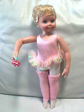Vintage Tyco My Pretty Ballerina Dancing Ballet Doll Near Mint Condition