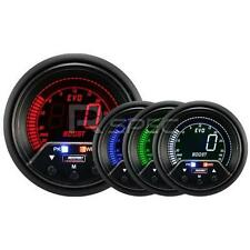 Prosport Evo 60mm LCD 35 PSi Boost Gauge 4 colour with peak and warning
