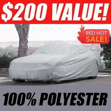 1982-1986 Pontiac Bonneville Sedan CUSTOM-FIT Polyester Car Cover $200 Value!!