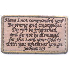 BIBLE QUOTES BIBLE SAYS 3D MORALE BADGE TACTICAL PATCHES HOOK & LOOP PATCH -05