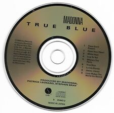 Madonna - True Blue - 1986 Sire CD - Early Pressing Made in Japan for USA