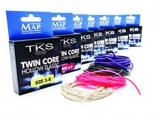 MAP TKS Twin Core Hollow Elastic 12-16 Black Pole Match Fishing