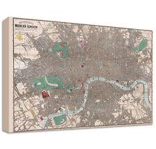 Modern Map Art Prints