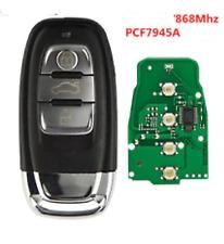 Llave Genérico Virgen Smart Key Contacto Audi A4 S4 S5 RS5 Q5 A5 868mhz Probado