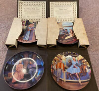 Lot of 4 Knowles of Carousel Collecter Plates Complete Set (P21)