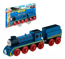Fisher-Price Thomas & Friends Wooden Railway Frieda Train Blue 2+