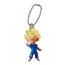 Dragon Ball Z UDM Mascot Swing PVC Keychain SD Figure ~ Majin Vegeta @6504