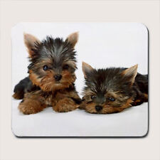 CUTE Yorkshire Terrier Yorkie Puppy Dog Mousepad Mouse Pad Mat Gift doggy